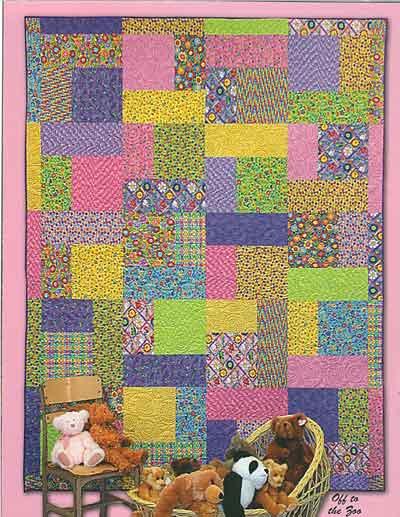 Quilt Patterns For 20 Fat Quarters : Turning Twenty Original Fat Quarter Quilt Pattern