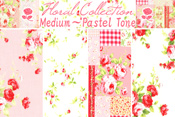 Floral Collection in Pastel